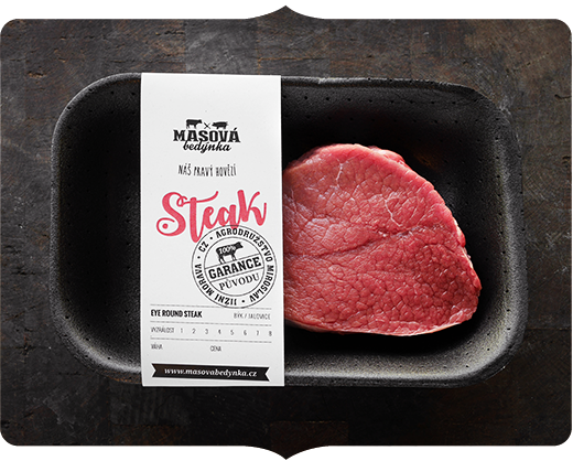 Eye round steak